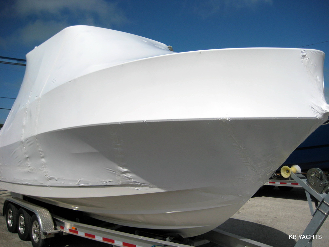 Plastic Wrap Car >> Marine Shrink Wrap - KB Yachts of Florida Inc. Proffesional Protection from the Elements! 954 ...