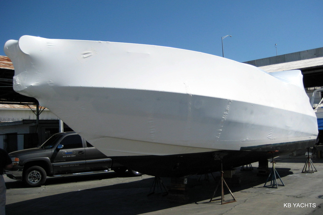 Shrink Wrapping Of Boats Machinery Amp Roofs Professional